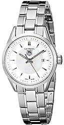 "TAG Heuer Women's WV1415.BA0793 ""Carrera"" Stainless Steel Watch"