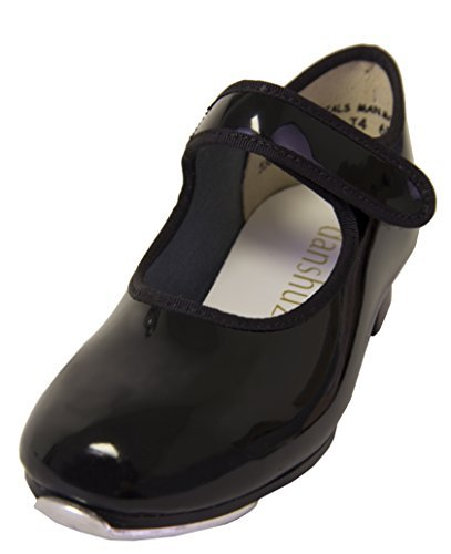 Danshuz Child Freedom Velcro Strap Tap Shoe (10M (Tap Dance Costumes Children)