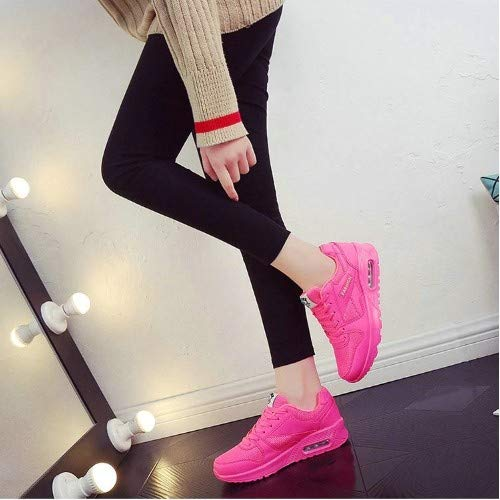 Casual Ysfu Amortiguación Primavera Deporte Con Para Y Mujer Damas Calzado De Planas Ligera Caminar Transpirable Otoño Zapatillas zZqwxrFz