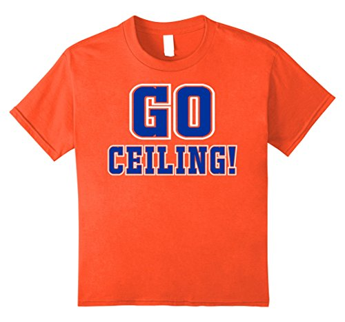 Kids Ceiling Fan Easy Genius Last minute Halloween Costume Shirt 12 Orange (Easy Last Minute Halloween Costumes For Boys)