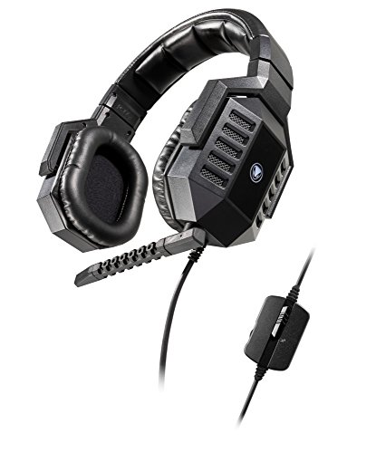 Snakebyte Snakebyte Python 3300S - Stereo Gaming Headset with detachable Microphone for PC / Notebook / Computer - Incl. In Line Remote - Over the Ear - Wired - PC;Mac;Linux;