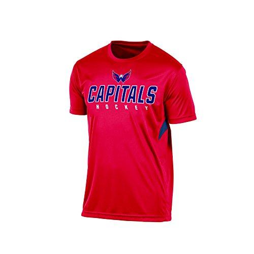 NHL Washington Capitals Men's Tee, Large, Red