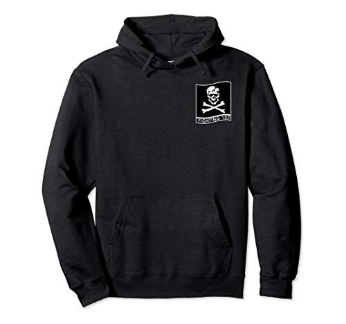Navy Strike Fighter Squadron 103 VFA-103 Jolly Rogers Hoodie ()