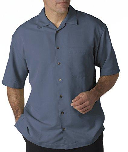 UltraClub® Ladies' Cabana Breeze Camp Shirt (Wedgewood) (2X-Large)