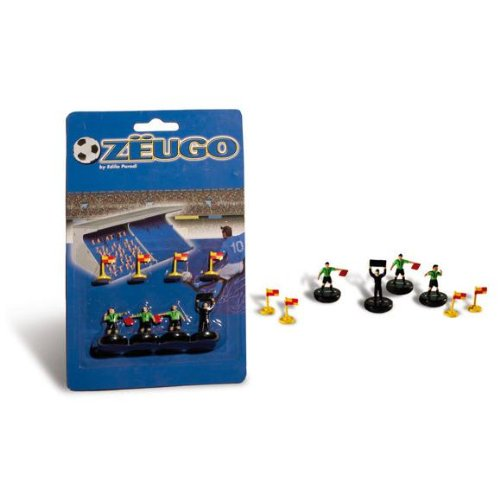 Zeugo 10254 Referee-Marker Set-4Th Man-Flags, ()