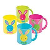 Best OTC Bunny Toys - Easter Themed Molded Mugs with Bunny Rabbit Art Review