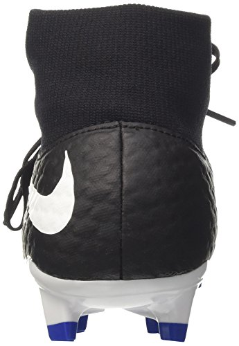 Nike Mens Hypervenom Phelon 3 Dynamisk Passform Fast Mark Fotbollsskor Svart / Vit