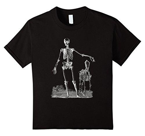 Horse Costume Idea (Kids Halloween Shirt Skeleton Man Horse Halloween Costume Idea 4 Black)