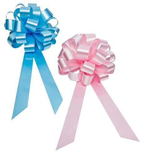 Gender Reveal Party Decorative Ribbons product image