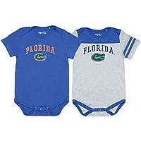 Elite Fan Shop NCAA Infant Snap Onesie Two Pack