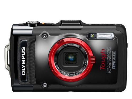 Olympus Stylus TOUGH TG-2 Digital Compact Camera - Black (12MP, 4x Wide Optical Zoom) 3 inch OLED - International Version (No Warranty)