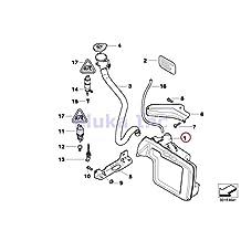 BMW Genuine Washer Fluid Reservoir - Windshield 525i 525xi 530i 530xi 545i 550i 528i 528xi 535i 535xi 550i 645Ci 650i 650i 645Ci 650i 650i