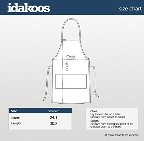 Idakoos - Oyster repeat retro - Animals - Apron by Idakoos (Image #1)