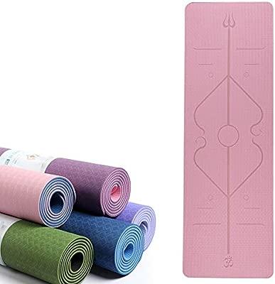 Grist CC 6mm TPE Yoga Mat Antideslizante Alfombra de Lujo ...