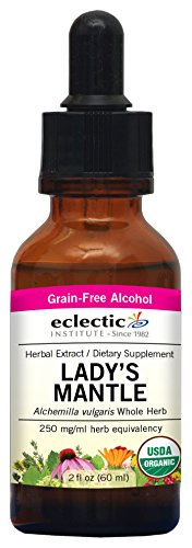 Eclectic Lady's Mantle O, Red, 2 Fluid Ounce