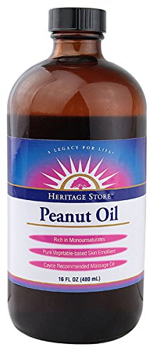 Peanut Oil Heritage Store 16 oz Oil by Heritage Store