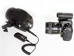 Cowboystudio 3-in-1 Wireless Remote Control for Canon, Monolight Remote Control and Wireless Shutter Control