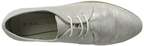 23306 Argent Femme Marco 933 silver Tozzi Metall Oxfords Premio gKyEArBcqE