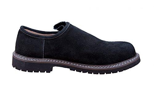 aus echtem Herren Almwerk Schwarz verschiedenen Leder Farben Trachtenschuh in qpEOOt