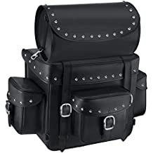 Nomad USA Revival Series Large Studded Motorcycle Sissy Bar Bag