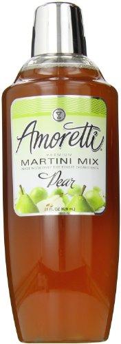 Amoretti Premium Martini Cocktail Mix, Pear, 28 Ounce