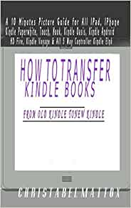 Move books from ipad to kindle