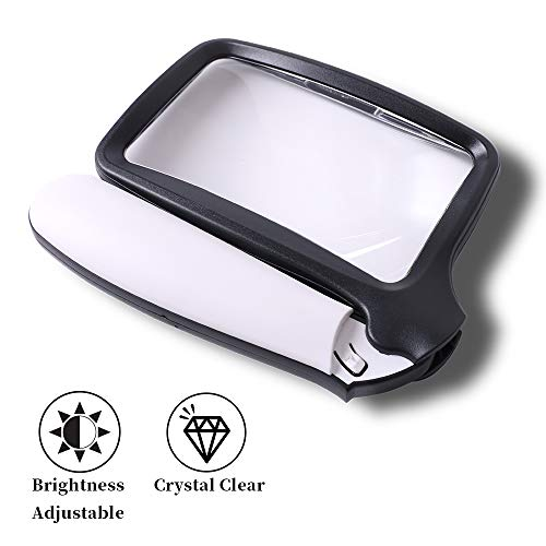 Handheld Magnifier With Led Light in US - 8