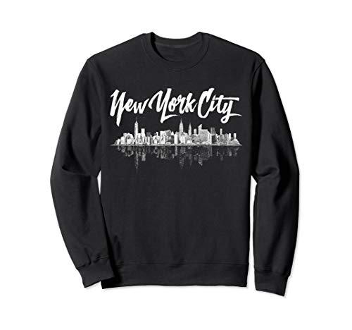 New York City Skyline Sweatshirts Souvenirs for Women & Men (Sweatshirt New City York)