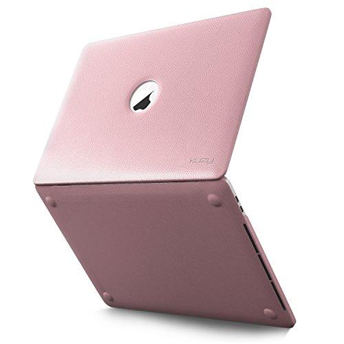 Kuzy MacBook Release Leatherette 15 inch