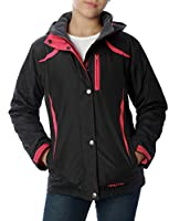 Arctix Girls Frost Insulated Jacket, Black, 4T