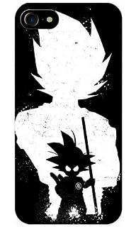 Coque Iphone 66s Dragon Ball Dbz Vegeta Son Goku Noir Et