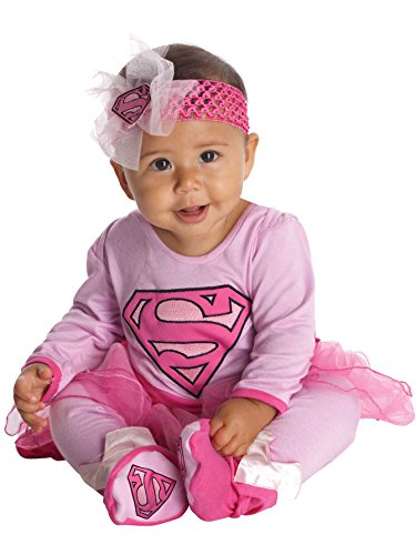 Supergirl Onesie Infant Costume -