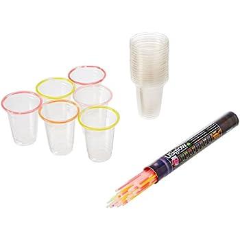 48 Glow Stick Party Cups (16-18 oz)