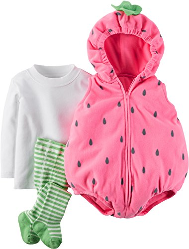 [Carter's Little Strawberry Halloween Costume-18 Months] (Strawberry Costume)