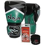 Kit Boxe Muay Thai - Luva New Extreme Verde + Bandagem (2 0586a52d72227
