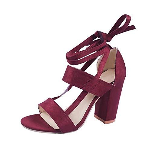 Femme Sandals 1 Avec Talons Des 3 Épais Dcyu Nuit couleur Chaussures 37 Taille Hauts Sexy Été Fr Boîte F Strap De F Cross tYqqEHw
