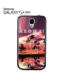 Aloha Sunset Hawaii Mobile Cell Phone Case Samsung Galaxy S4 Mini Black