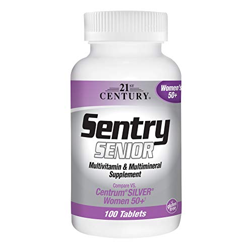 21st Century Sentry Senior Women 50 Plus Tablets, 100 Count - Vitamins 21st Century Tablet