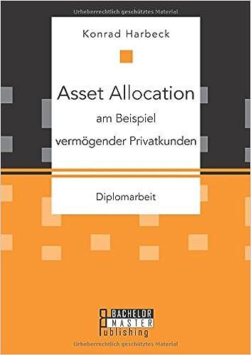 Asset Allocation am Beispiel vermögender Privatkunden