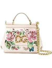 Women's BB6387AI902HAH41 Pink Leather Handbag