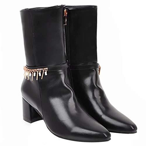Women's Women's Black AIYOUMEI Women's AIYOUMEI AIYOUMEI Boot Black AIYOUMEI Boot Classic Boot Classic Classic Black zqAHx6wnqp