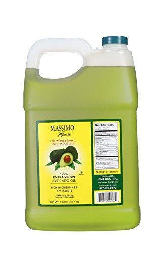 Massimo Gusto Extra Virgin Avocado Oil, 1 Gallon Bulk