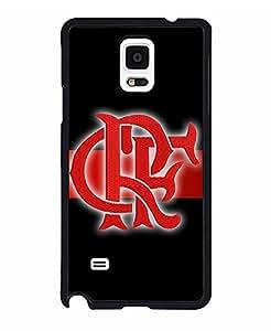 Samsung Galaxy Note 4caso fútbol Club Flamenco alto impacto Protecive Ultra Thin Funda de resistente a los impactos personalizado funda–por talltowerell