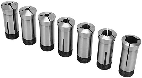 ZYL-YL Collet, Square Collet Set Mill Chuck Holder for Lathes with a Spindle Taper of 5C, Automatic Lathes, CNC Lathes, etc