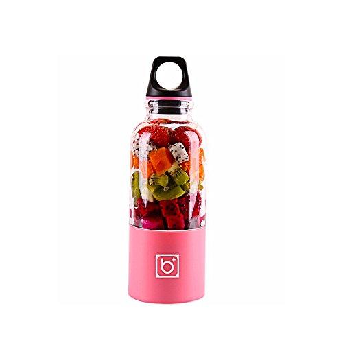 Gano Zen 500ml Electric Juicer Cup -Mini Portable USB Rechargeable Juicer Blender - Maker Shaker Squeezers Fruit Orange Juice Extractor by Gano Zen (Image #5)