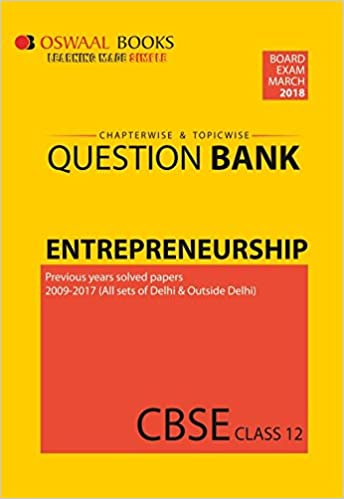 Oswaal CBSE Chapterwise/Topicwise Question Bank for Class 12