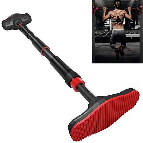 ANTOPY Pull-Up Bar Stretch Bar Deuropening Gym Fitness Krachttraining geen Schroeven Verstelbare Breedte 65-100cm Grote…