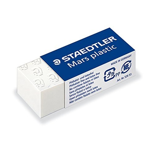 STAEDTLER Mars Plastic Mini Eraser 526 53 - Box Of 30