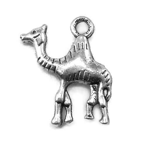 - 20 Camel Charms Tibetan Silver Tone