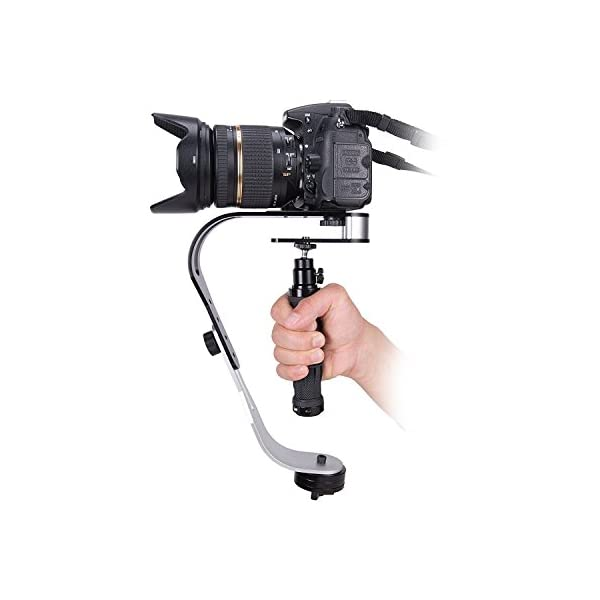 Yantralay Handheld Steadicam Video Stabilizer for DSLR Cameras with Mobile Attachment 1